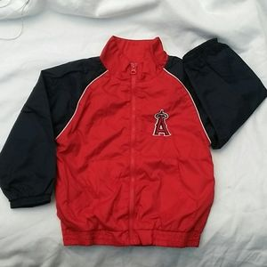 Childs 3T Anaheim Angels Windbreaker